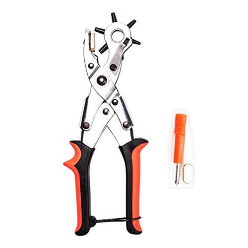 Outil de poinçonnage polyvalent Pince à œillets Chaussures Poinçonneuse WatchStrap Poinçonnage - D, comme décrit