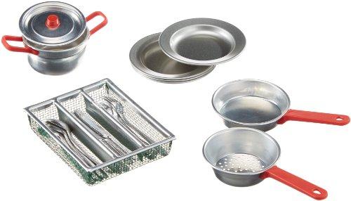 Küchengarnitur 21teilig Aluminium