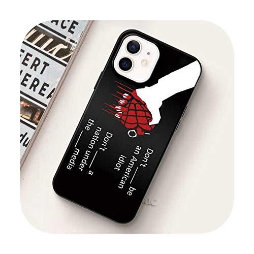 Carcasa suave para iPhone 12 Mini 11 Pro Max Xr Xs X 7 8 Plus Se Funda para iPhone Xsmax Silicon Shell-B10-para iPhone Xs