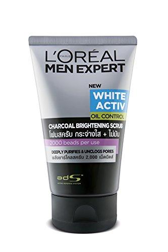 L'Oreal Men Expert Pure & Matte Deep Action Charcoal Black Scrub 100ml