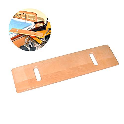 LANGYINH Houten Transfer Board - Patiënt Slide Assist Device - Bariatric Heavy Duty Sliding Transport Platform, Geschikt voor Ouderen, Patiënten, Obesitas - 29.5x7.6 Inch