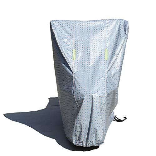 WILLQ Fahrradabdeckung Wasserdicht Sonnenschutz staubdicht für Fahrräder und Motorroller Abdeckung Hybrid Fahrradabdeckung Reißfeste Fahrradabdeckungen für Vier Jahreszeiten,Blau,S