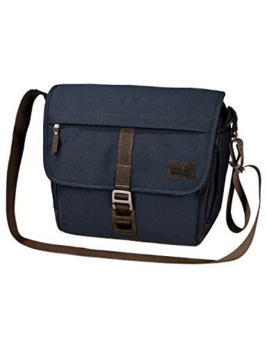 Jack Wolfskin Unisex-Erwachsene Camden Town sac à bandoulière Umhängetasche, Blau (Night Blue), One Size