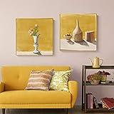 Imágenes de arte de pared de bodegón realista frutas lienzo pintura artista carteles e impresión Decoraciónación cuadrada para sala de estar dormitorio pasillo 50x50cmx2 sin marco