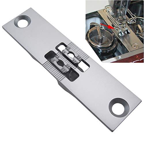 CKPSMS Marca – 1 set #GC867-DNP+GC867-DFD placa de aguja y perro de alimentación compatible con DurKOPP Adler 867 doble máquina de coser (tamaño de aguja de 8 mm)