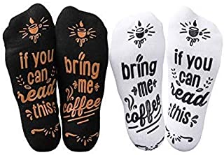 If You Can Read This Bring Me Coffee Socks - Mothers Day Gifts For Coffee Lover