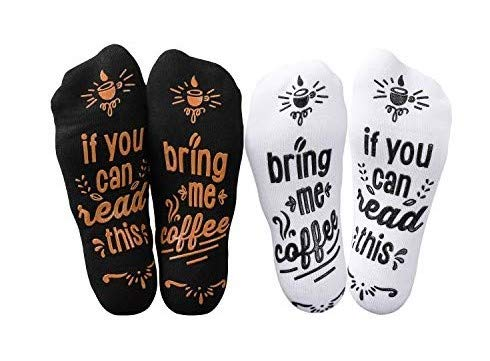 If You Can Read This Bring Me Coffee Socks - Mothers Day Gift Idea For Coffee Lover