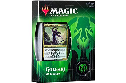 Magic The Gathering Guilds of Ravnica 1 Guild Kit- Selezione casuale - Italiano - Random Selection - Italian