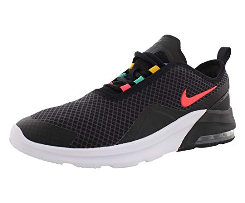 Nike Herren Air Max Motion 2 Traillaufschuhe, Schwarz (Black/Flash Crimson/University Gold 9), 38.5 EU