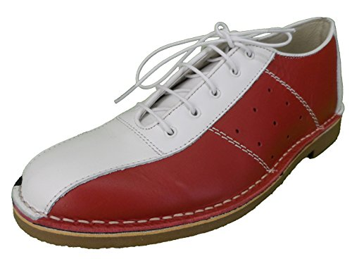 Ikon Men`s Marriot Bowling Shoe (9, red/White/Blue)