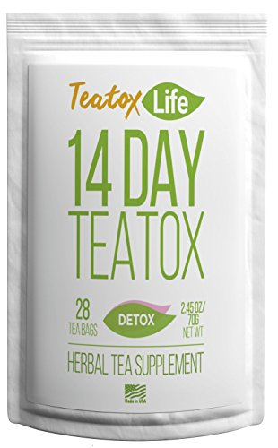Skinny Mint Teatox Detox Tea, Organic 14 Day / 28 Day Body Cleansing Treatment| Healthy Natural Weight Loss Slimming Tea For Women & Men | Metabolism Boosting Flat Stomach Tea