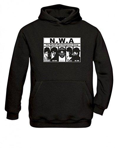Senas-Shirts NWA Hoodie Kapuzenpullover (S)
