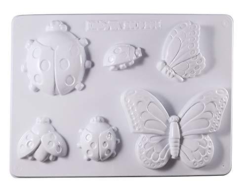 Moules Coccinelle et Papillon
