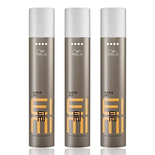 Wella EIMI Super Set Finishing Haarspray extra stark SET 3 x 500ml