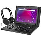 """Ematic 10.1"""" EGQ239BD 16GB Tablet Bundle (Wi-Fi, Black)"""