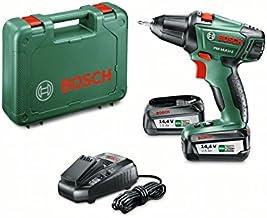Bosch Home and Garden 0 603 973 40P Atornillador/taladro con bateria de litio, 36 W, 14.4 V, Negro, Verde