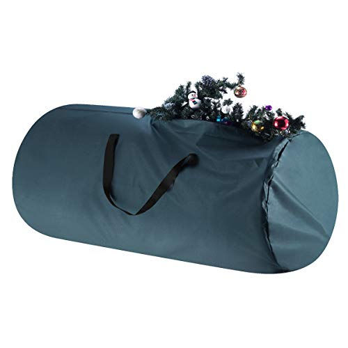TINY TIM TOTES 83-DT5564 Premium Canvas Christmas Storage Bag   Extra Large for 12 Foot Tree   Green, Single