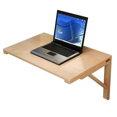N/Z Tägliche Ausrüstung Wandklapptisch Hölzerner Ecktisch Doppeltisch Beistelltisch Küchenbock Schreibtisch Geeignet für Computerlernen und Essen C (Größe: 80 * 40 cm)