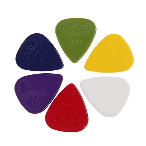 Pack Of 12 X Nailon Agarre Guitar Picks Púas Alice Ap600g para Acústica Eléctrica bajo Guitarras Extra Alto Grosor 1.5mm