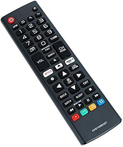 New AKB75095307 Remote Control Replaced for LG LED LCD 4K UHD Smart TV 32LJ550B 43UJ6300 55LJ5500 55UJ6050