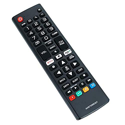 New AKB75095307 Remote Control Replaced for LG LED LCD 4K UHD Smart TV 32LJ550B 43UJ6300 55LJ5500 55UJ6050