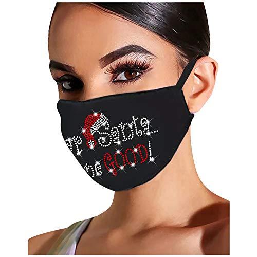 HFStorry Anti-Staub Mund Gesicht, Unisex Wiederverwendbare waschbare Abdeckung Ohrschlaufenabdeckung