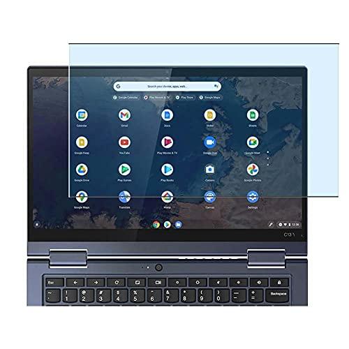 Vaxson Protector de Pantalla de Cristal Templado Anti Luz Azul, compatible con Lenovo ThinkPad C13 Yoga Chromebook 13.3' [solo área activa] 9H Película Protectora