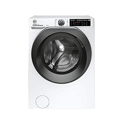 Hoover H-Wash 500 HWD610AMBC Free Standing Washing Machine, Care Dose, A+++, 10 kg, 1600 rpm, White
