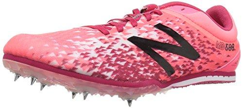 New Balance Md500V5 Spikes, Scarpe da Atletica Leggera Donna, Rosa (Pink), 4 UK EU