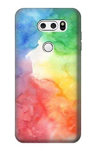 R2945 Colorful Watercolor Case Cover For LG V30, LG V30 Plus, LG V30S ThinQ, LG V35, LG V35 ThinQ