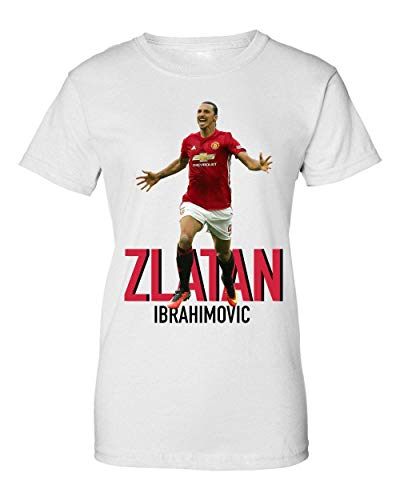 Wicked Design Zlatan Ibrahimovic Camiseta de Mujer XX-Large