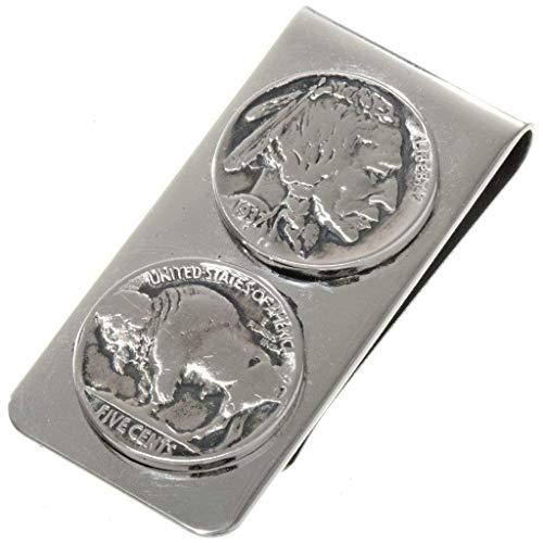 buffalo nickel money clip - 3