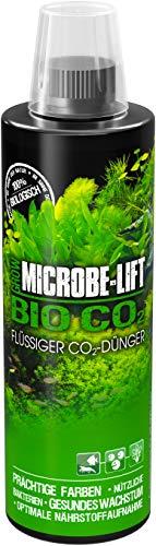 MICROBE-LIFT Bio Co2 – flüssiger CO2-Dünger, Kohlenstoffdünger für prächtige Aquarium Pflanzen, 473ml
