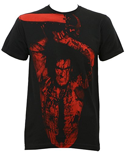 Camiseta masculina Evil Dead 2 Ash Williams Subway Slim-Fit preta, Preto, Small