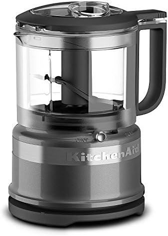 2021 KitchenAid KFC3516QG discount 3.5 Cup Mini Food discount Processor, Liquid Graphite online sale