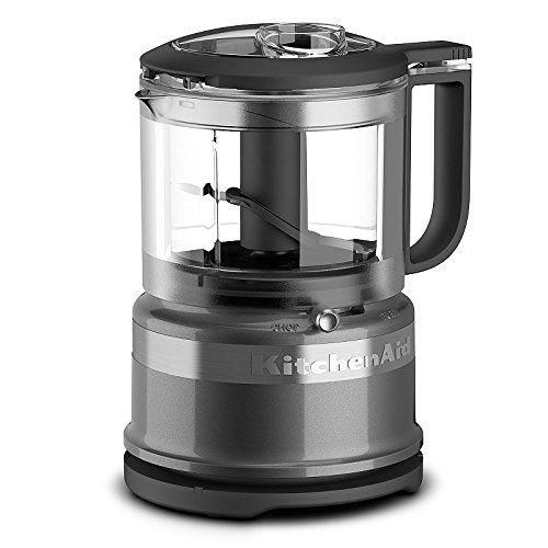 KitchenAid KFC3516QG 3.5 Cup Mini Food Processor, Liquid Graphite