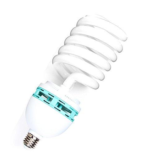 Fotga 125W 230V E27 5500K Energiebesparende CFL Fotostudio Bulb Video Fotografie Daylight Light Lamp