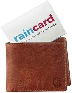 Raincard Pocket Rain Coat with Hood for Emergency Use (Unisex, One Size Fits All; Colour: Blue & Yellow Random)