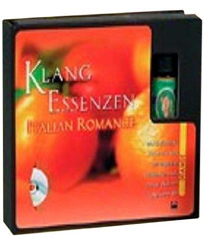 """Klang Essenzen Italian Romance. Duftöl und CD. . Inkl. Duft \""""Orange\"""""""