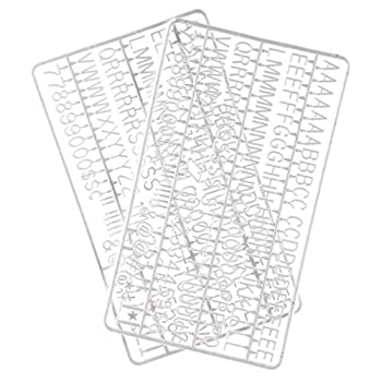 3/4 Inch Letters for Flet Letter Boards,300 Pieces Including Letters Numbers & Symbols for Changeable Plastic Message Boards  White