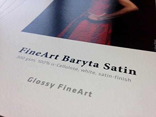 Hahnemühle FineArt Baryta satiniertes Papier, 300 g, DIN A4, 25 Blatt