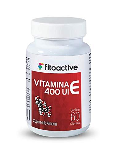 Vitamina E 400 UI 60 Cápsulas Fitoactive