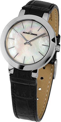 Jacques Lemans Damen-Armbanduhr Analog Quarz 1-1824A