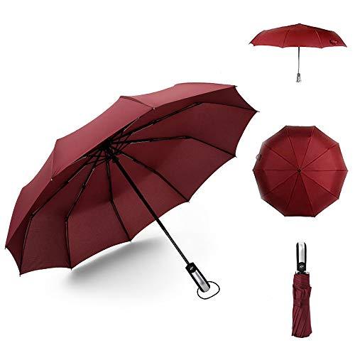 Silaite Paraguas Plegable Automatico Portatil, Paraguas Plegables Vogue Mujer y Hombre, Paraguas...