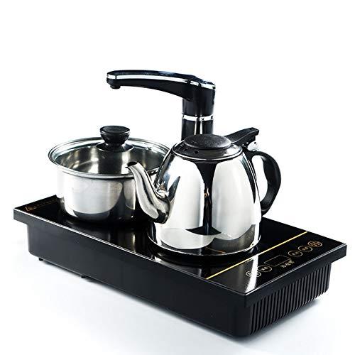 Elektrischer Wasserkocher, elektromagnetischer Teekocher mit automatischer Bewässerung, Drei-in-Eins-Teeservice, Kung-Fu-Teezeremonie-Teekocher, Edelstahlkessel