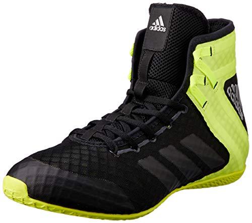 adidas Speedex 16.1, Scarpe da Boxe Uomo, Nero (Schwarz Cblack/Ngtmet/Silvmt), 43 1/3 EU