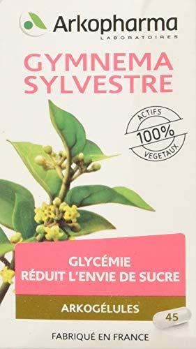 Arkopharma - Phytothérapie - Réduite l'envie de sucre - Arkogélules Gymnema Sylvestre - Flacon de 45 Gélules