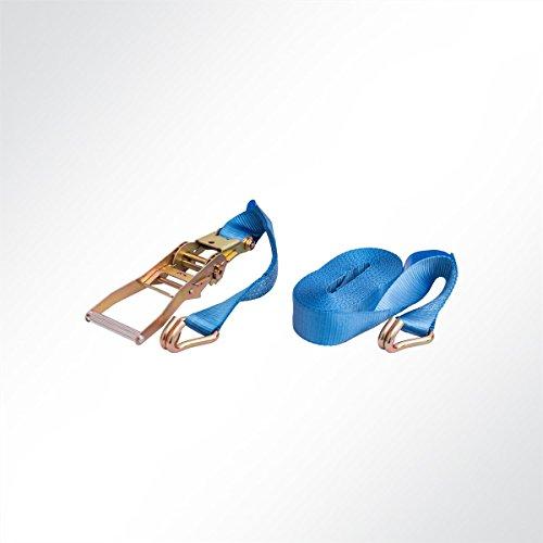 LYSEL® Ratschengurt Zurrgurt Spanngurt 2-teilig 9 Meter blau 5000kg