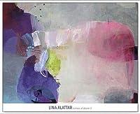 ポスター リナ アラタール Echoes of Desire II 額装品 アルミ製ベーシックフレーム(ホワイト)
