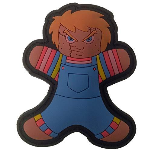 TACOPSGEAR Gingerbread peperkoekmannetje Chucky pop Horror Helloween patch
